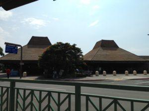 コナ国際空港前